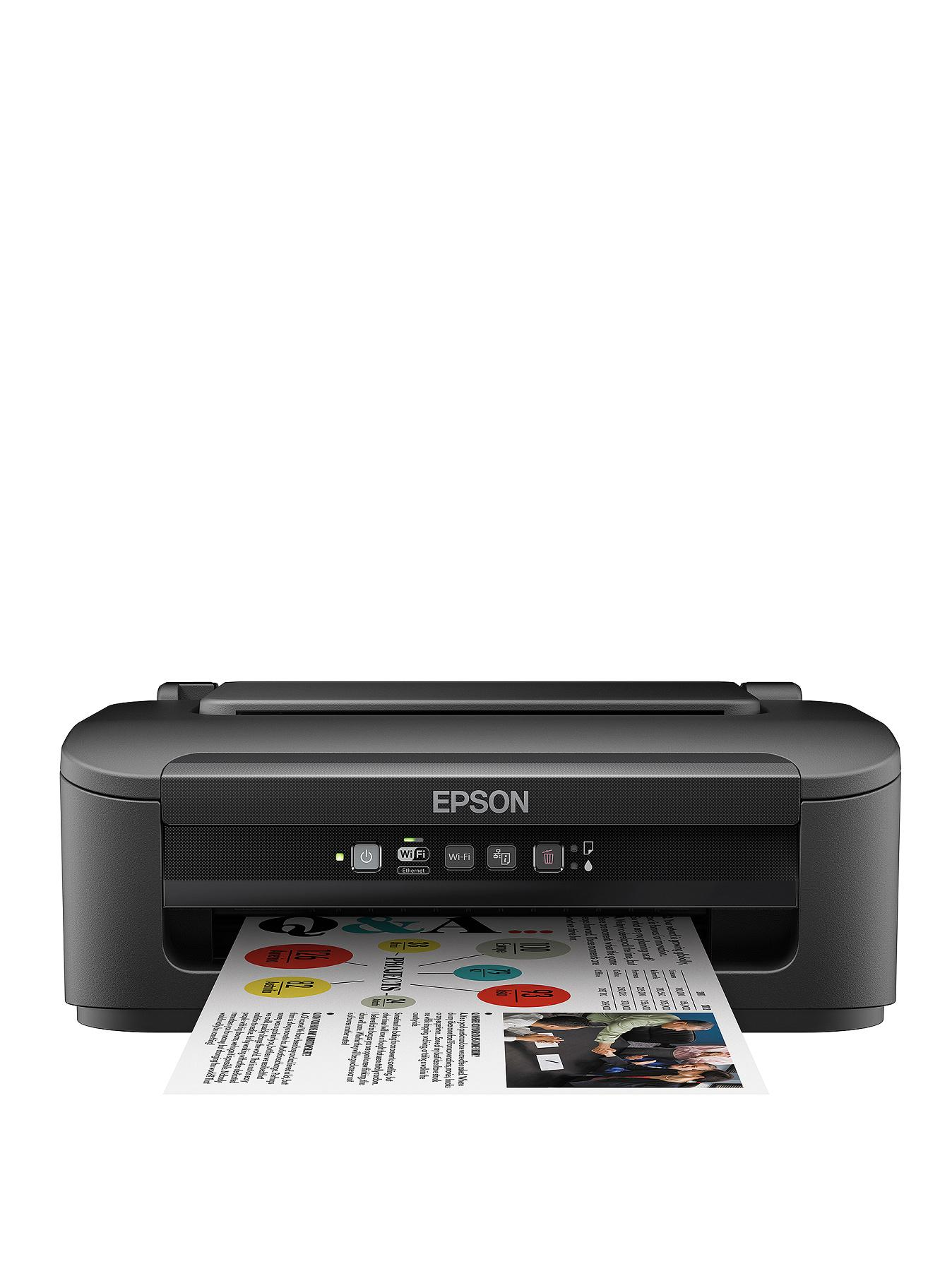 Epson WorkForce WF-2010W Printer - Black