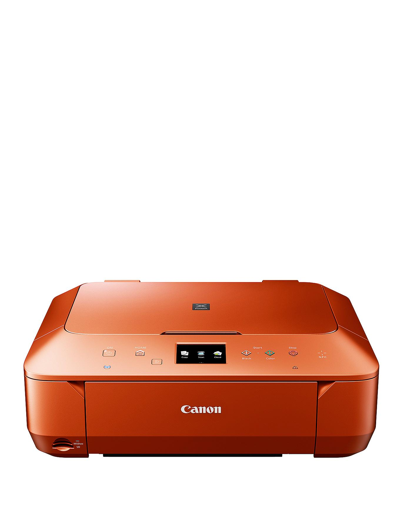 Canon Pixma MG6650 All in One Printer- Burnt Orange