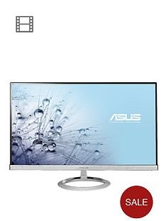 asus-sonicmaster-mx279h-27-inch-widescreen-ultra-slim-bezel-ah-ips-led-monitor-silver-with-bang-olufsen-icepower-speakers
