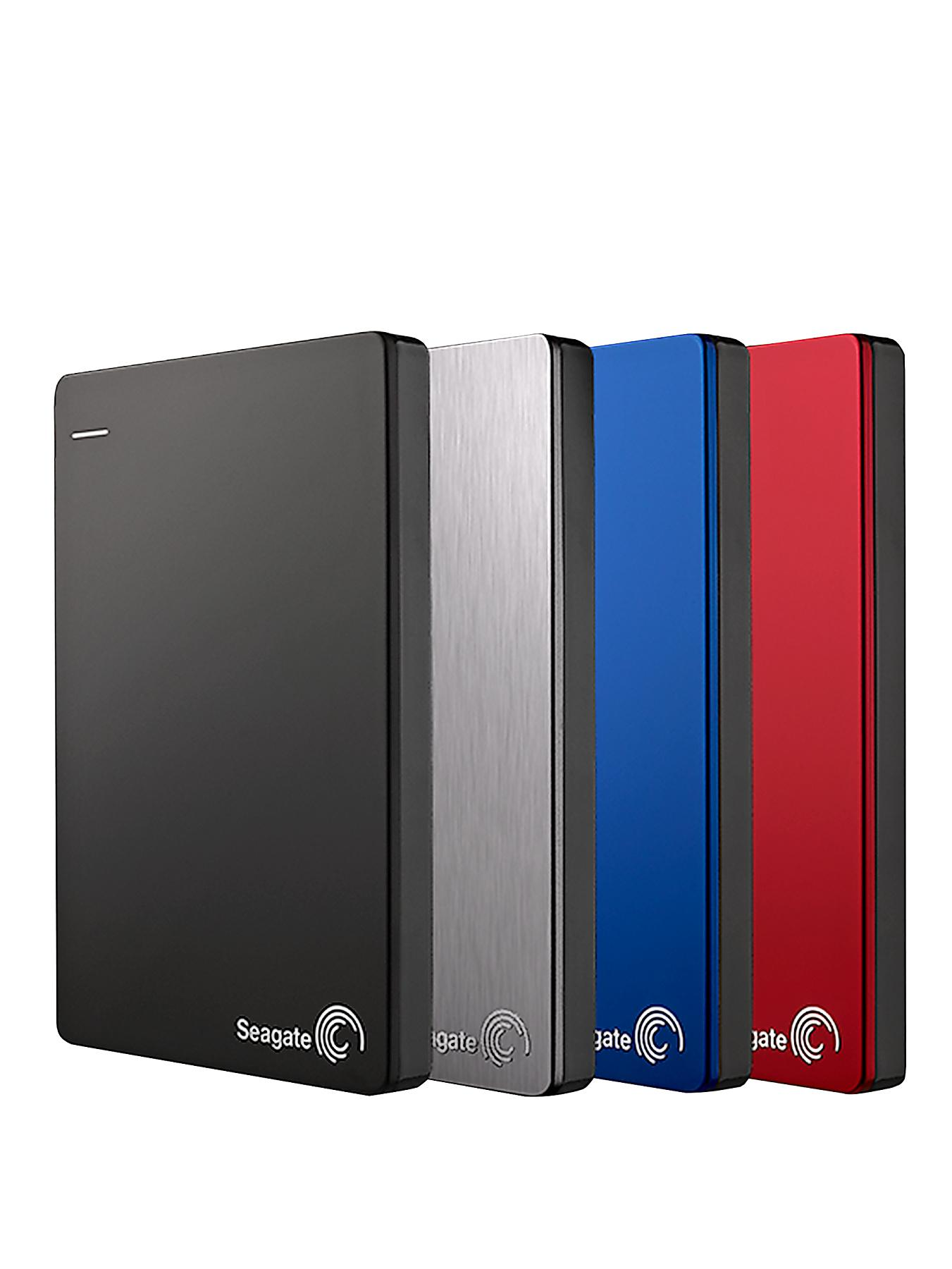 Seagate 1Tb Backup Plus Slim Portable Drive - Silver, Silver