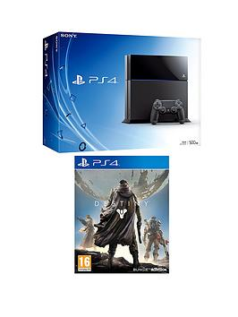 playstation-4-500gb-console-with-destiny-and-free-the-order-1886-god-of-war-3-remastered-and-optional-12-months-playstation-plus