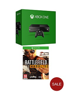 xbox-one-console-with-battlefield-hardline-and-optional-12-months-xbox-live
