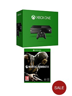 xbox-one-console-with-mortal-kombat-x-and-optional-12-months-xbox-live