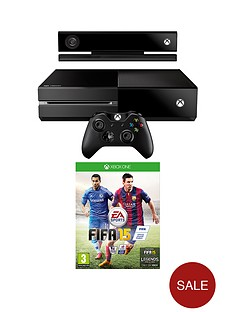 xbox-one-console-with-kinect-fifa-15-and-optional-additional-controller-and-3-or-12-months-xbox-live