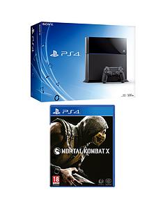 playstation-4-500gb-console-with-mortal-kombat-x-and-optional-3-or-12-months-playstation-plus