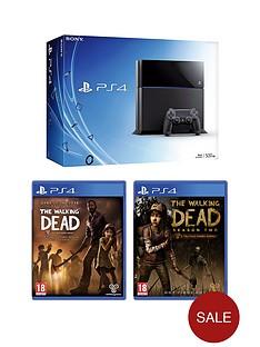playstation-4-500gb-console-the-walking-dead-season-1-2-free-bloodborne