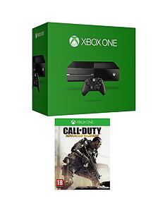 xbox-one-500gb-console-with-call-of-duty-advanced-warfare-with-optional-3-or-12-months-xbox-live