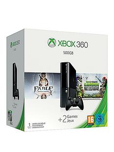 xbox-360-500gb-plants-vs-zombies-garden-warfare-bundle