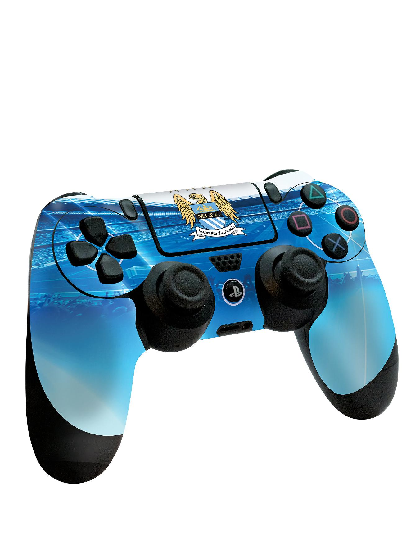 Playstation 4 Official Man City FC PS4 Controller Skin