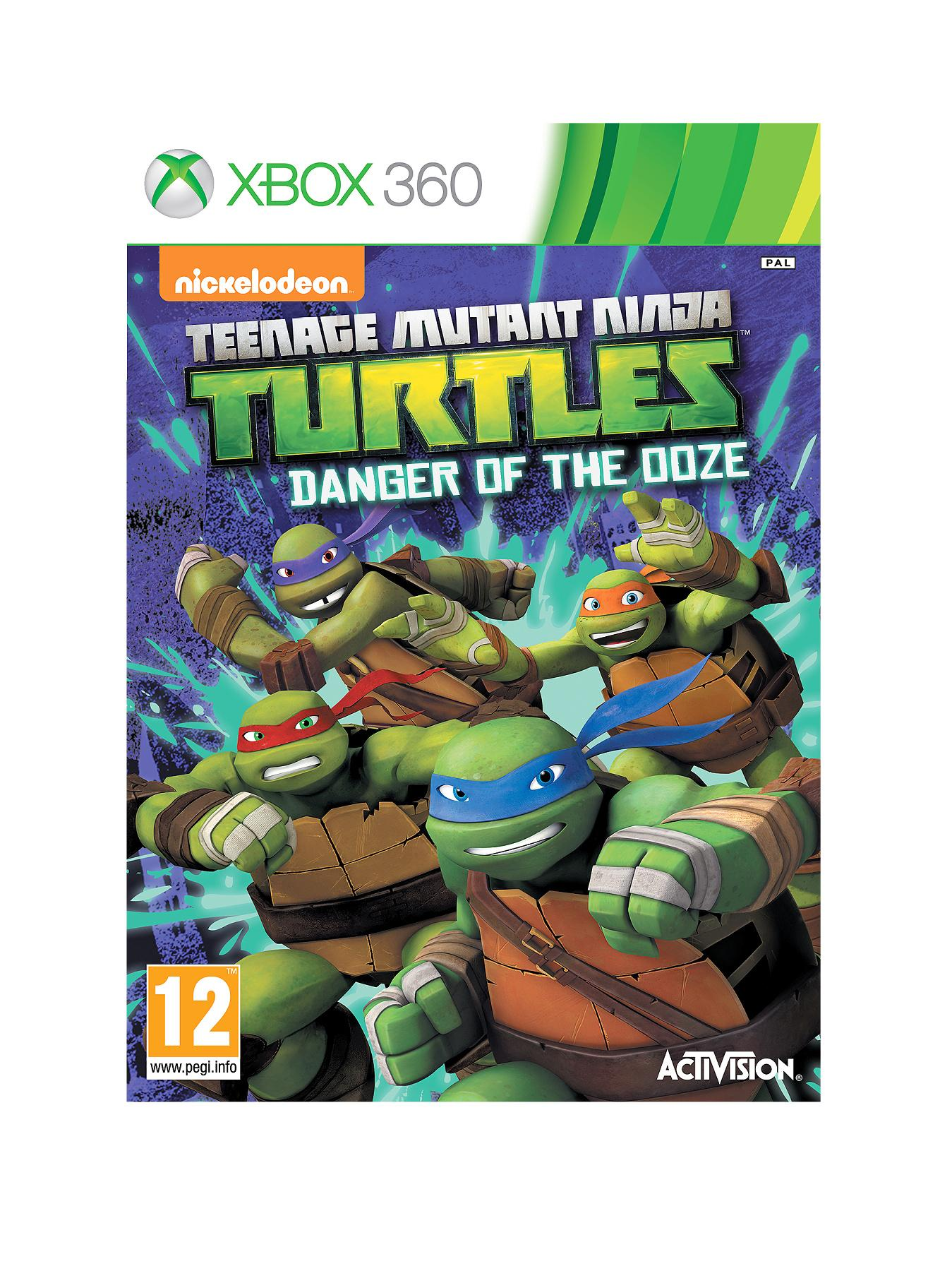 XBOX 360 Teenage Mutant Ninja Turtles: Danger of the Ooze