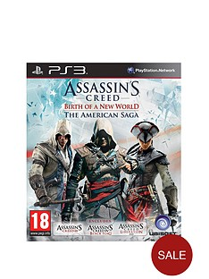 playstation-3-assassins-creed-birth-of-a-new-world--the-american-saga-collection