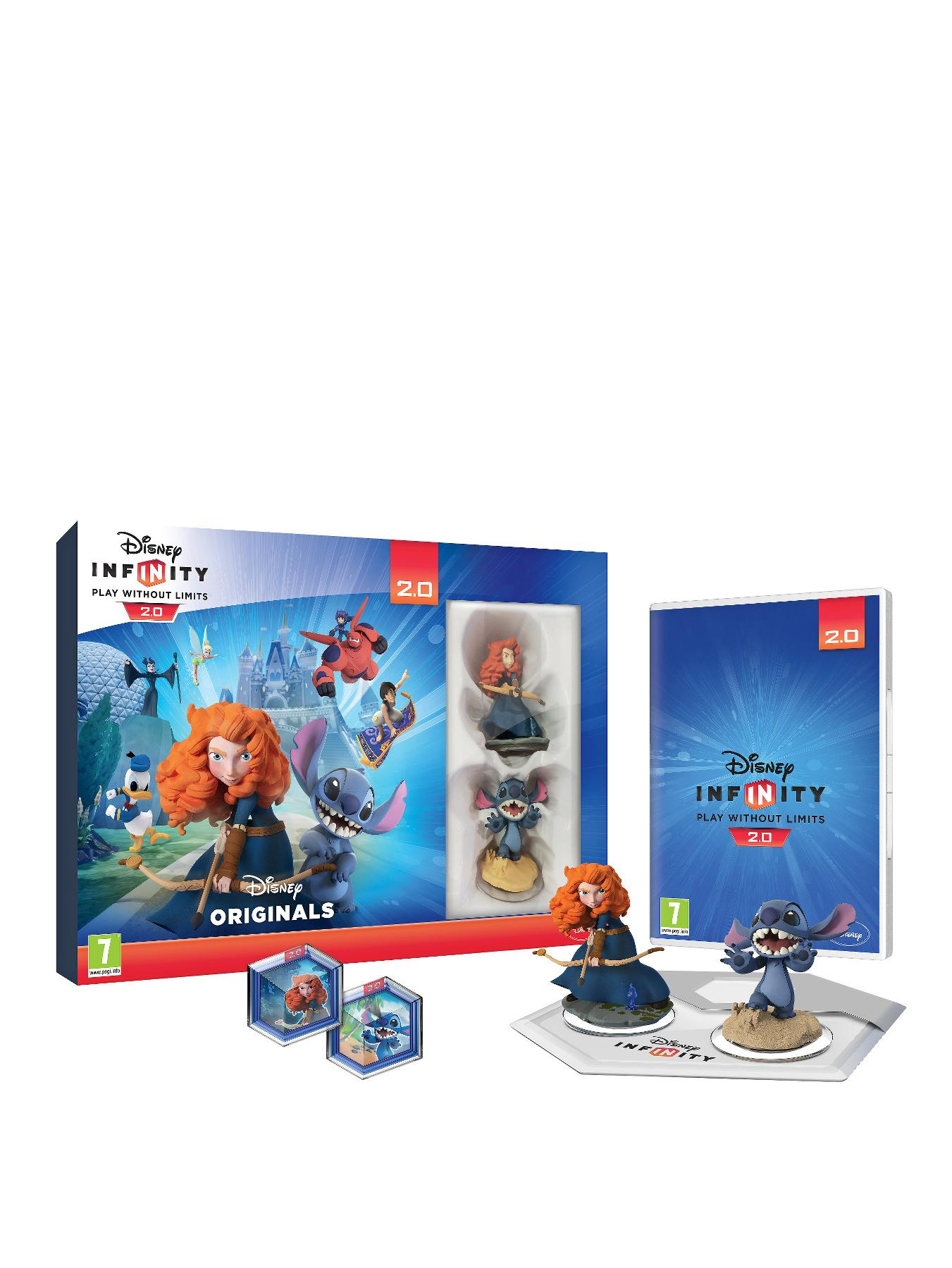 Disney Infinity 2.0 Toy Box Combo Pack for Xbox 360 - Merida and Stitch