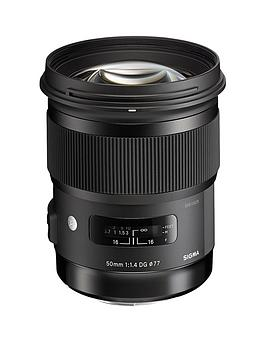 sigma-50-mm-f14-dg-a-hsm-lens-canon-fit-black