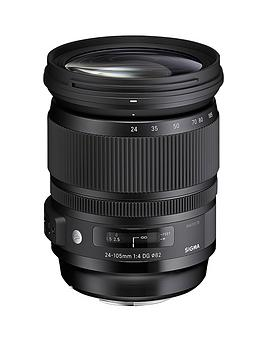 sigma-24-105-mm-f40-dg-a-os-hsm-nikon-fit-lens-black