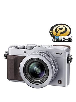 Panasonic DMC- LX100 EBS 12.8 Megapixel Compact Camera with WiFi - Silver