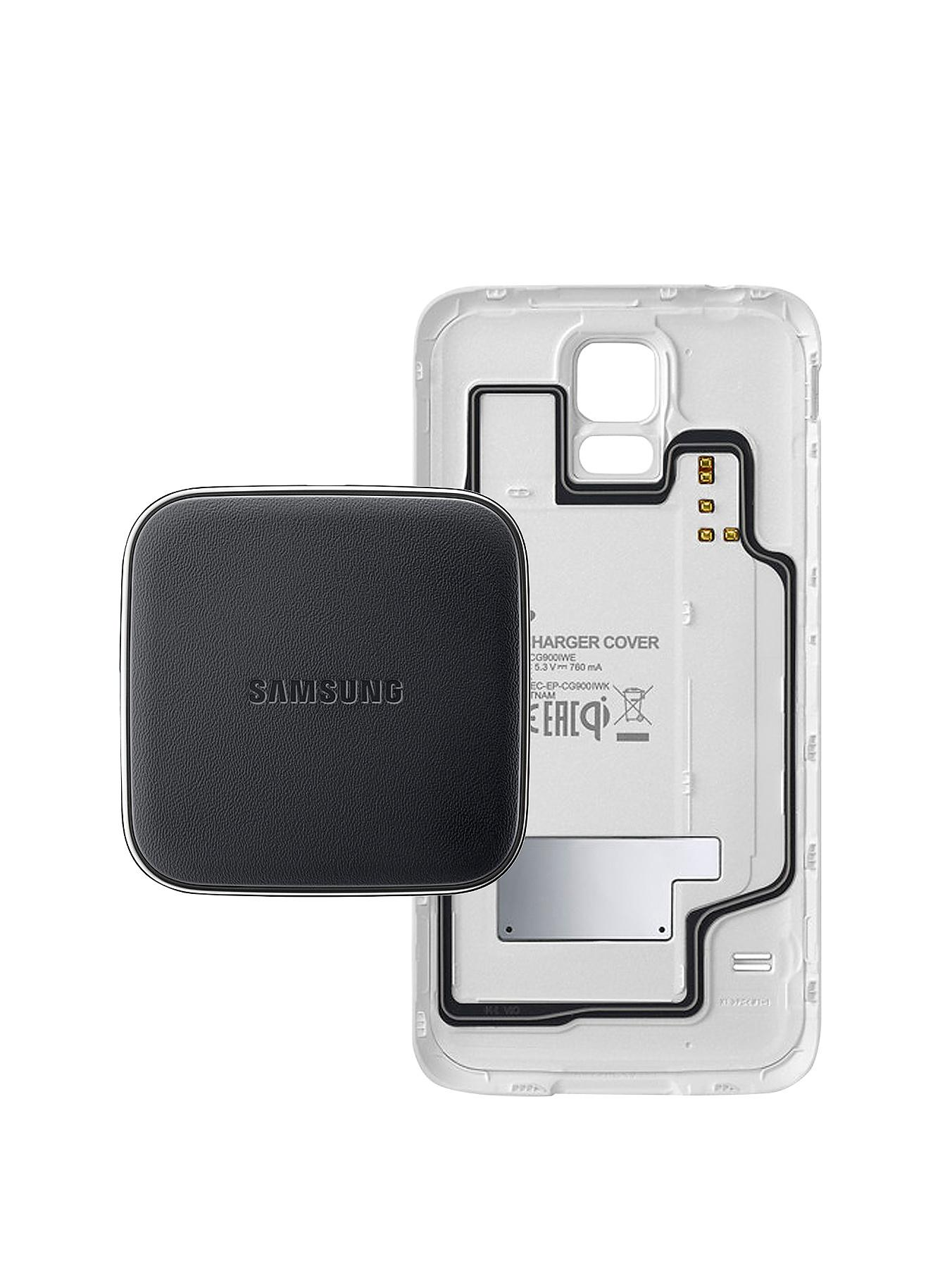 Samsung Original Galaxy S5 Wireless Charger Kit - White