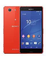 Xperia™ Z3 Compact 4.6 inch Smartphone - Orange