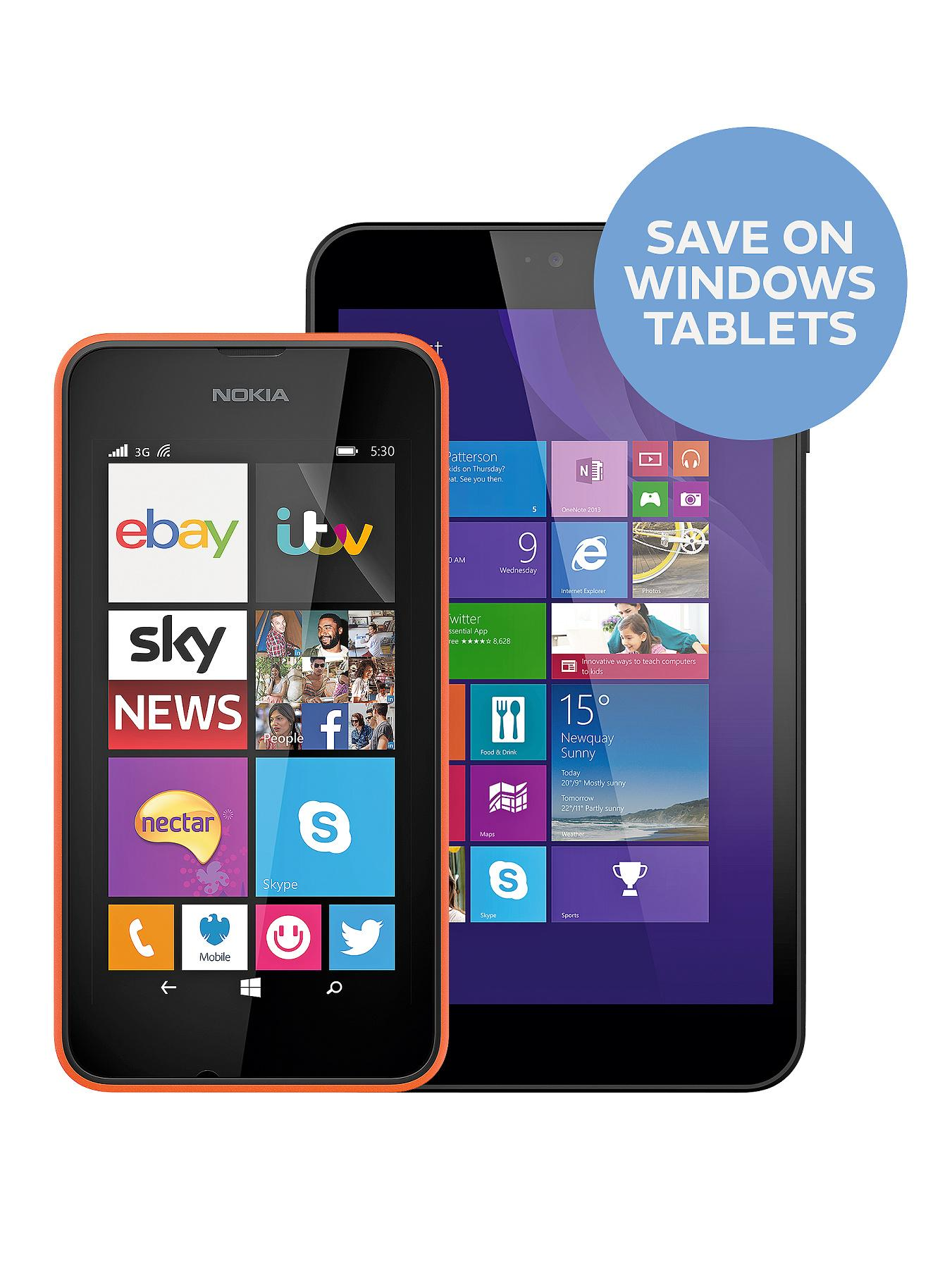 Nokia Lumia 530 Smartphone - Orange