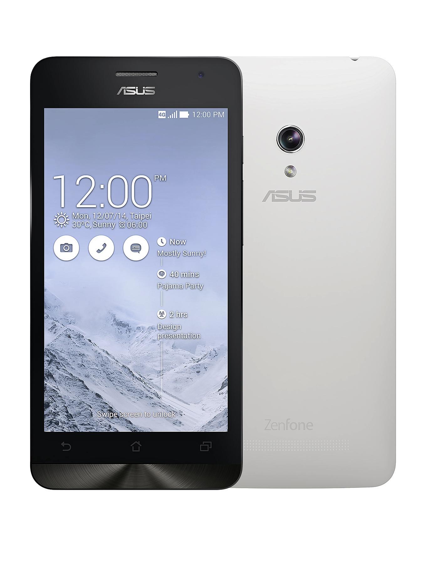 Asus ZenFone 5 inch LTE Smartphone - White