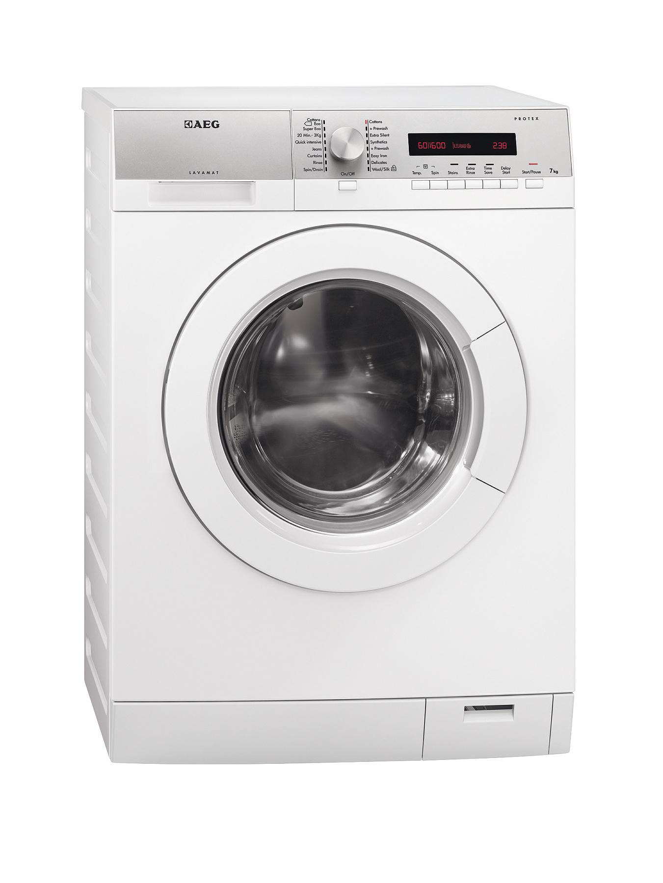 AEG L76675FL 7kg Load, 1600 Spin Washing Machine - White