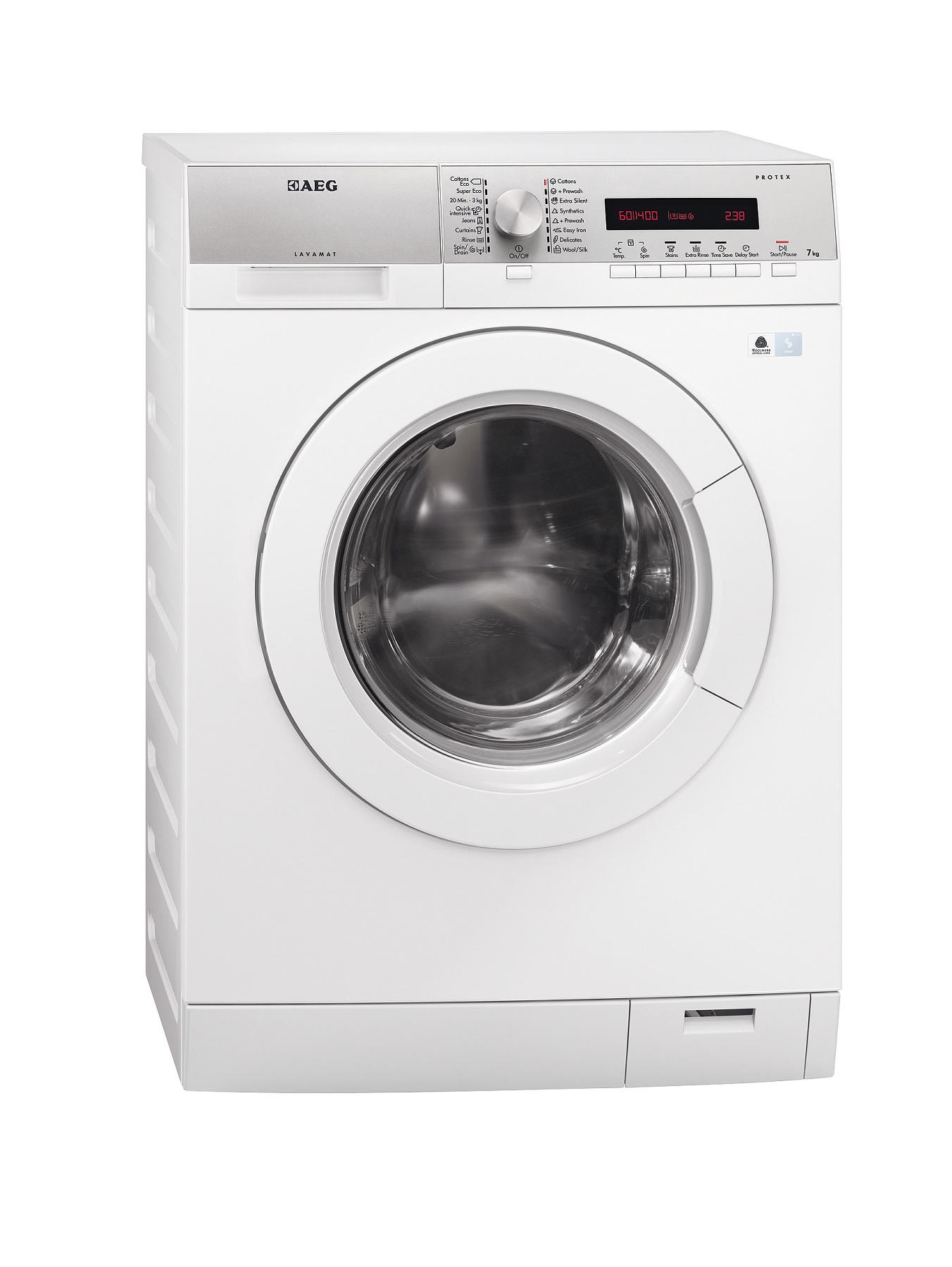 AEG L76475FL 7kg Load, 1400 Spin Washing Machine - White