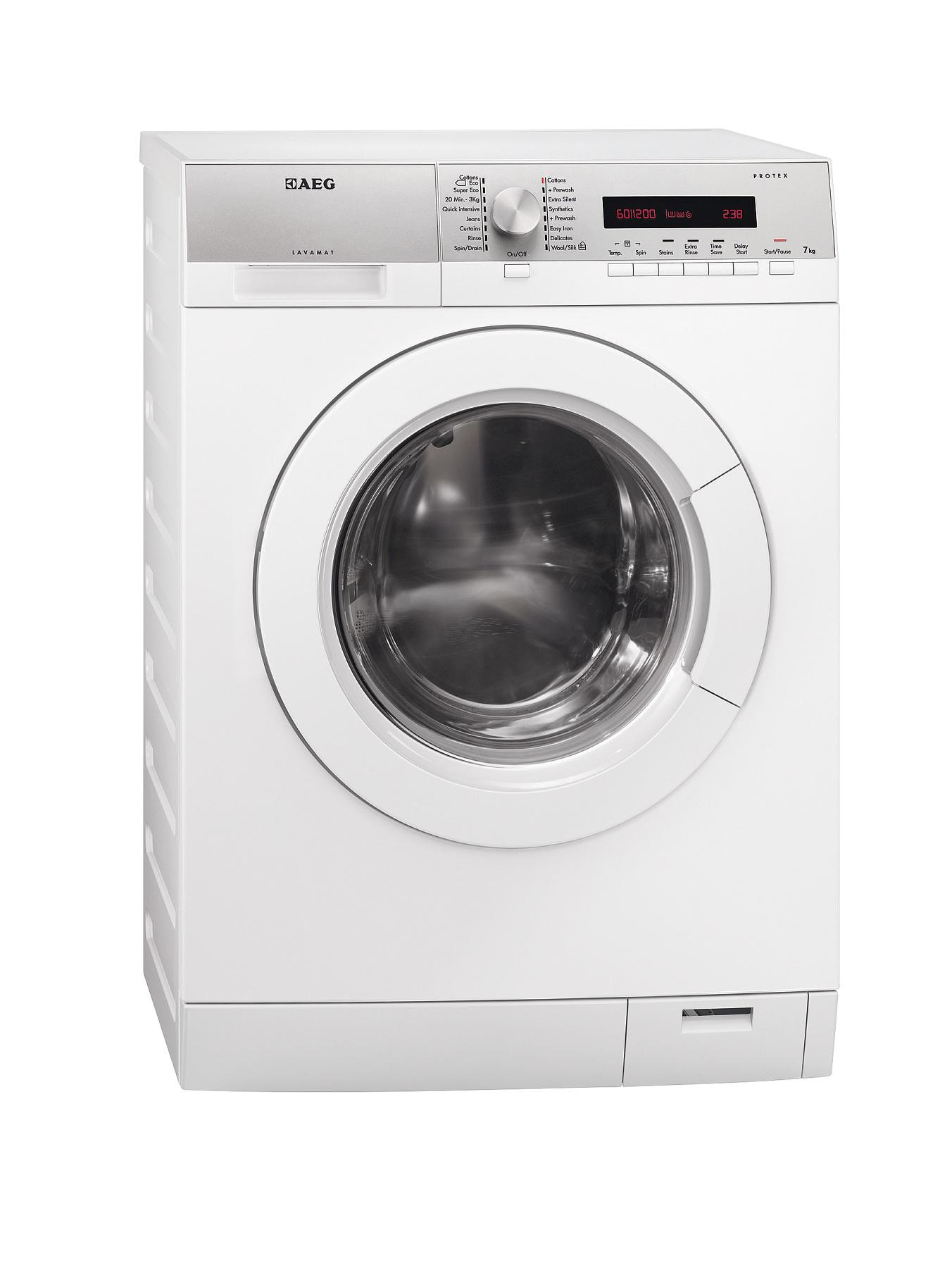 AEG L76275FL 7kg Load, 1200 Spin Washing Machine - White