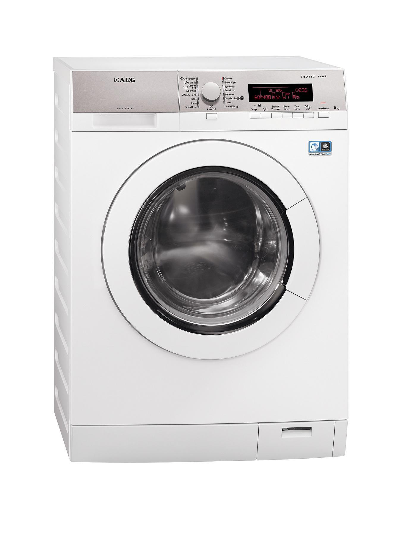 AEG L87485FL 8kg Load, 1400 Spin Washing Machine - White