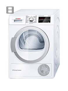 bosch-wtw85490gb-8kg-heat-pump-condenser-dryer-white