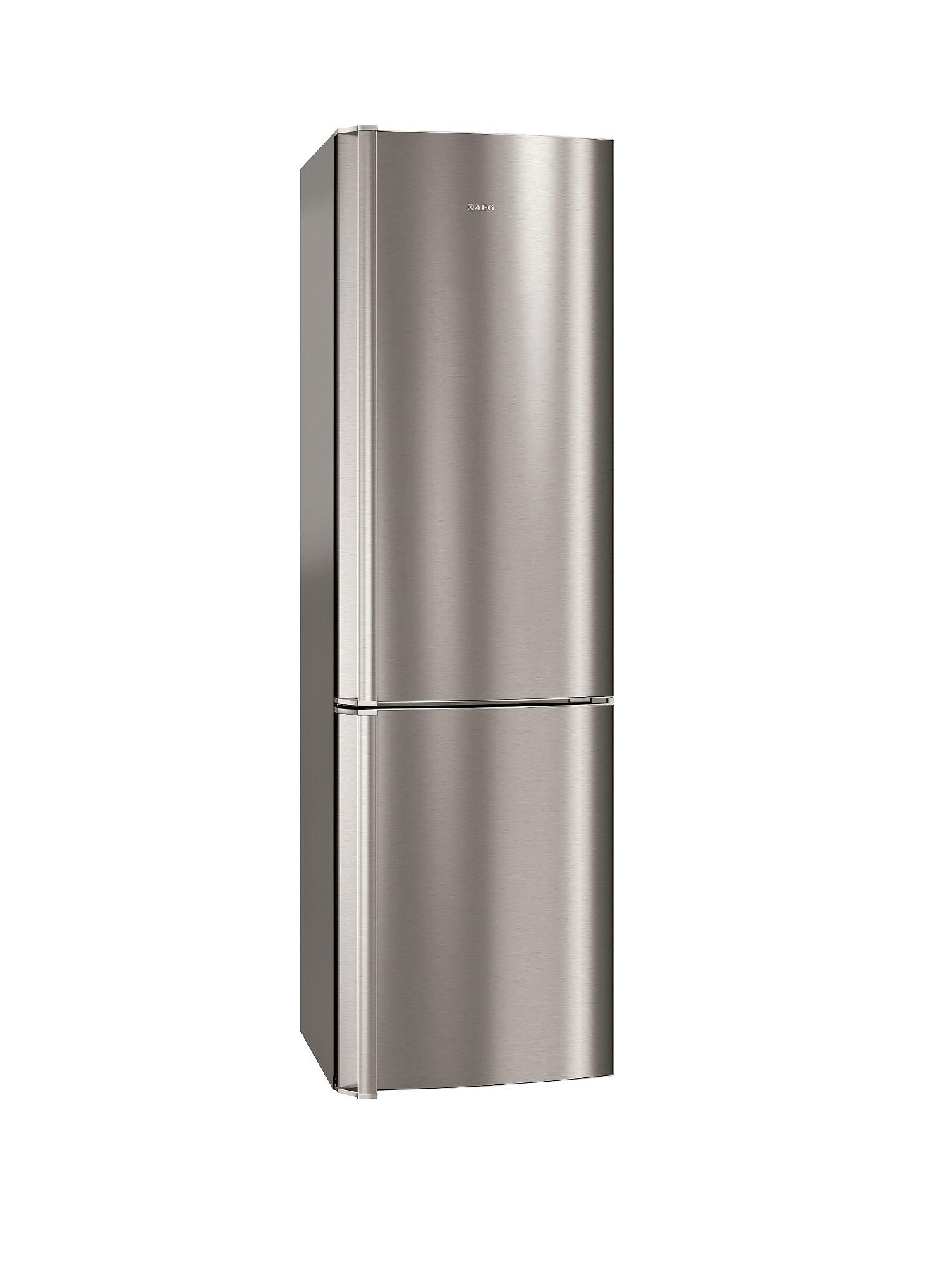 AEG S83420CTX2 Frost Free Fridge Freezer - Stainless Steel