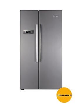 swan-sr8070i-american-style-frost-free-fridge-freezer-silverinox