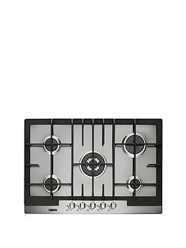 zanussi-zgg76524xa-75-cm-built-in-gas-hob-stainless-steel