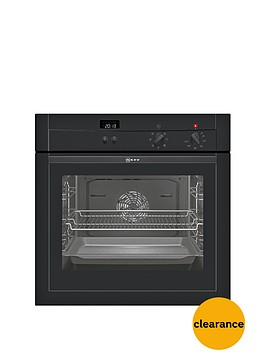 neff-b14m42s3gb-60cm-built-in-single-electric-oven-black