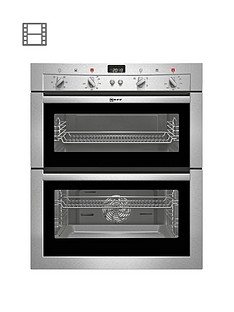 neff-u17m42n3gb-built-under-double-electric-oven-stainless-steel