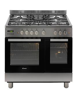 candy-ccg9d52px-90cm-dual-fuel-range-cooker-twin-cavity-stainless-steel