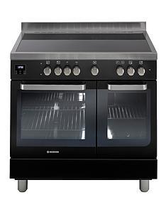 hoover-hvd9395bl-90cm-electric-range-cooker-with-ceramic-hob-black