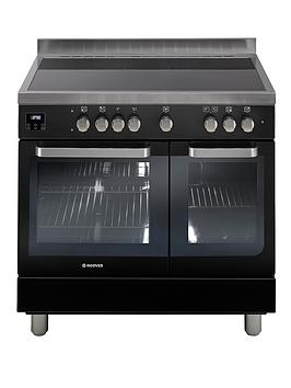 hoover-hvd9395bl-90cm-electric-range-cooker-with-ceramic-hob-black