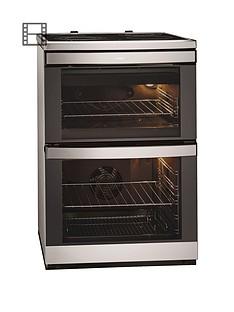aeg-49002vmn-60cm-ceramic-double-oven-electric-cooker