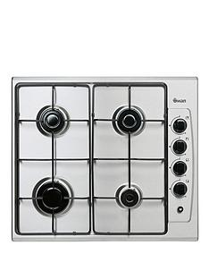 swan-sxb2030s-60cm-built-in-gas-hob-stainless-steel