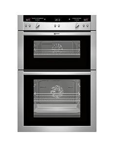 neff-u16e74n3gb-built-in-electric-double-oven-stainless-steel