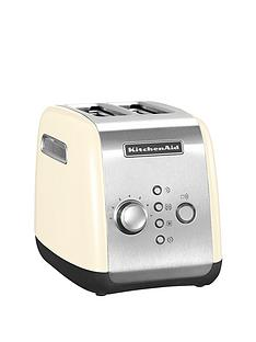 kitchenaid-5kmt221bac-2-slot-toaster-cream