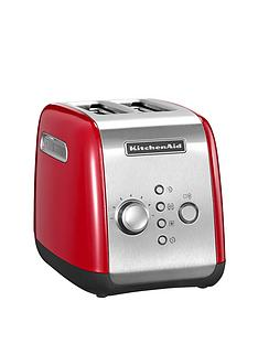 kitchenaid-5kmt221ber-2-slot-toaster-red