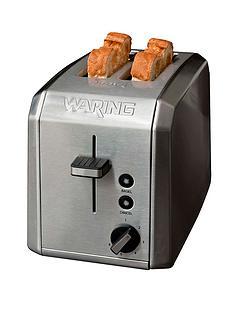 waring-wt200u-2-slice-toaster-brushed-stainless-steel