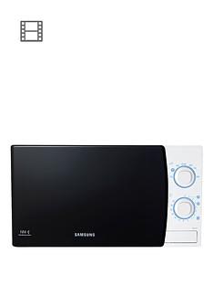 samsung-me711kxeu-20-litre-800-watt-solo-microwave-white