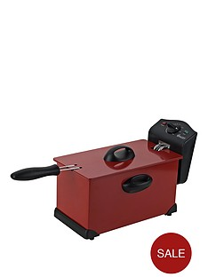 swan-sd6042r-single-pro-fryer-red