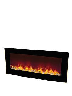 be-modern-amari-electric-fire-black
