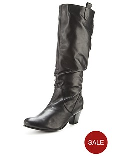foot-cushion-aloha-leather-calf-boot-wide-fit-black