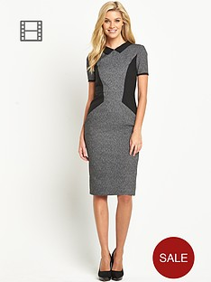 south-collared-panel-dress
