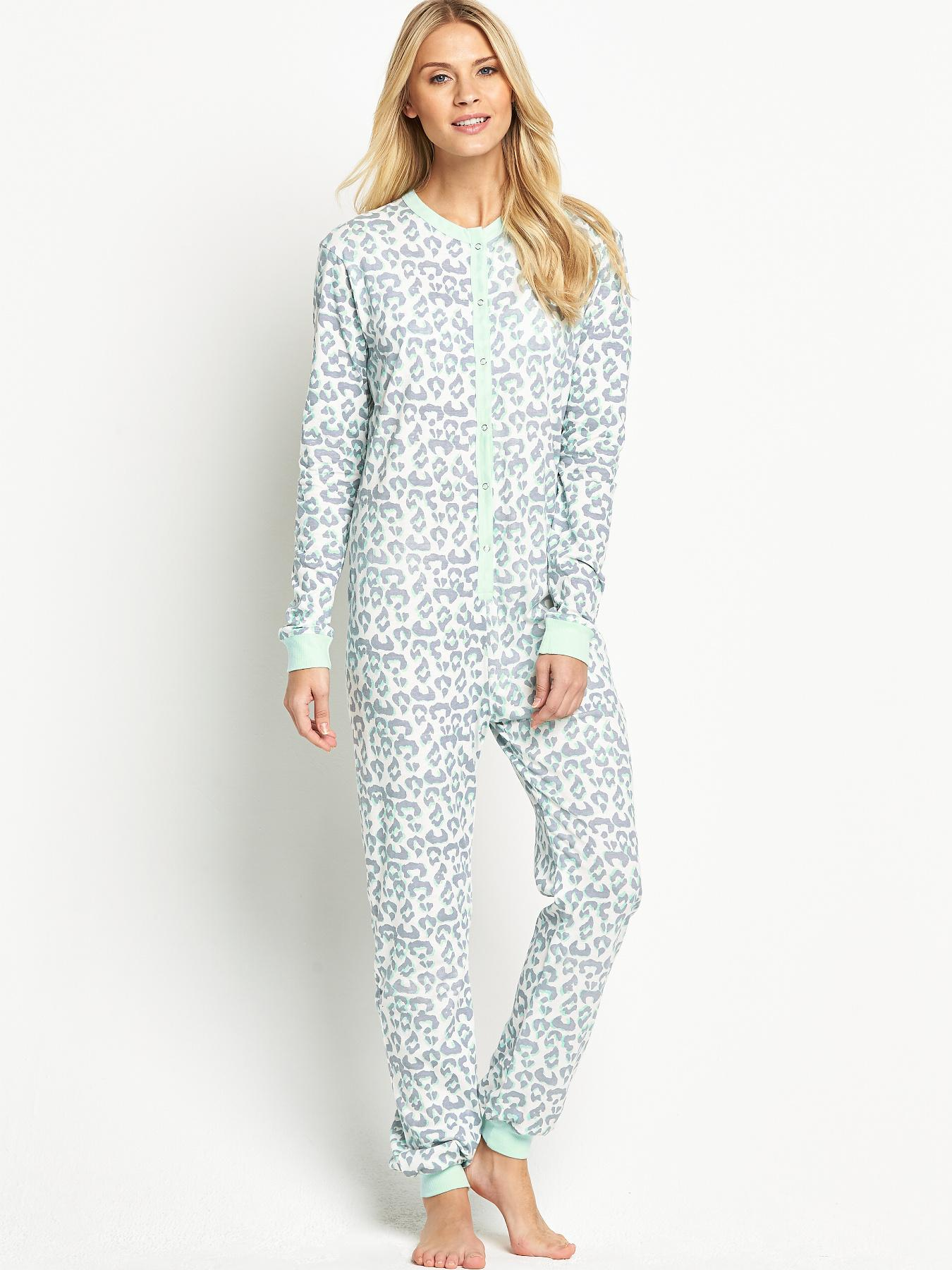 Sorbet Great Value Animal Print Onesie