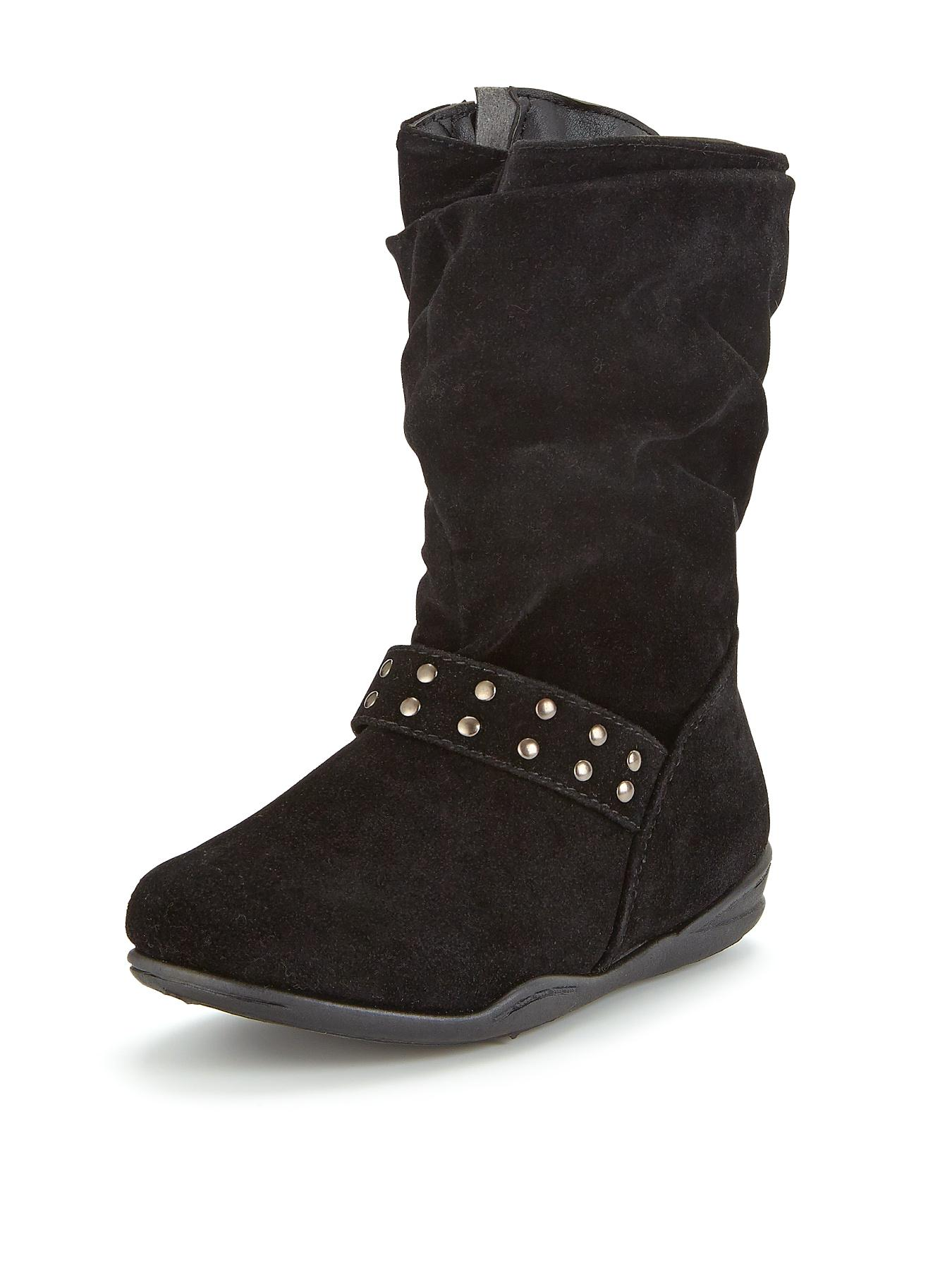 Maisie Slouchly Boots - Black, Black