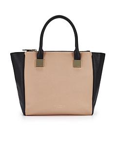 ted-baker-crosshatch-triple-compartment-bag